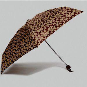 Coach Pop Star SIGNATURE Mini Umbrella